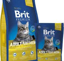 Кошачий корм Brit premium.